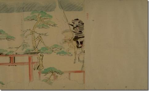 Японская живопись. Нашествие монголов на Японию в конце 13