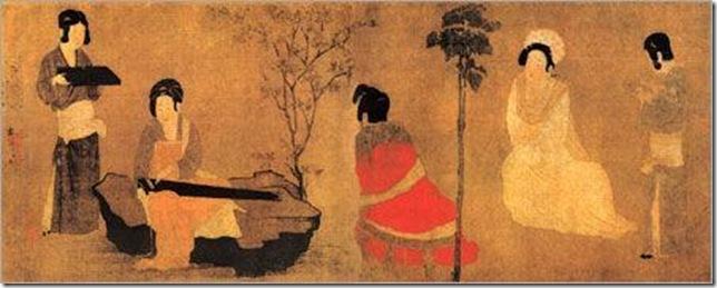 Образы модниц из Династии Тан