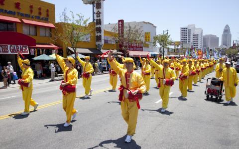 Фалунь Дафа в Лос-Анджелесе