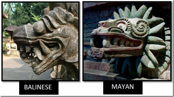Bali-Mayan-Serpent-Statues