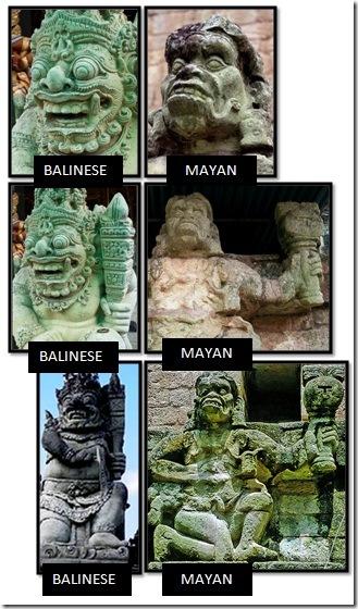 Balinese-Mayan-Gods-Howler-Monkey-God-Mayan