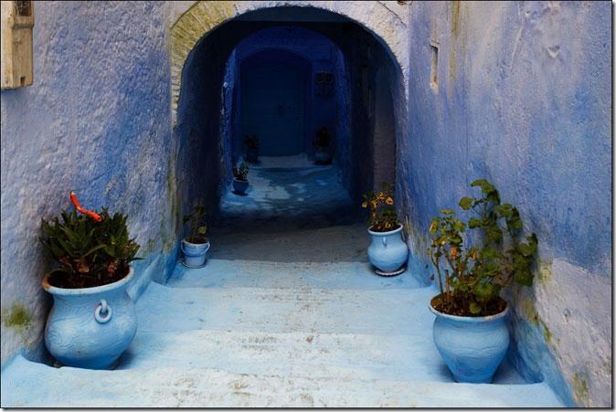 Сингий город Шефшауэн, Марокко. Фото: otpuskekx.ru