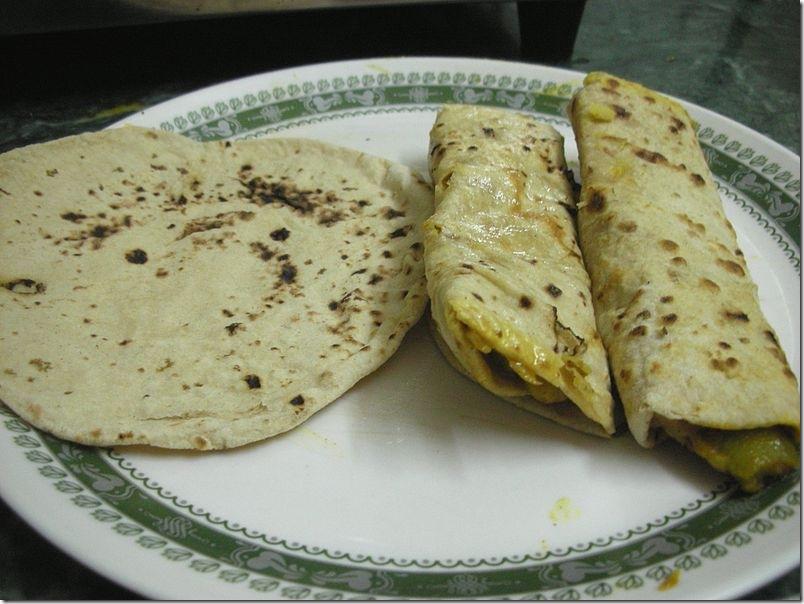 Традиционные индийские лепёшки «Чапати». Фото: wikipedia.com