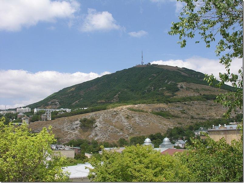 Гора Машук. Фото: wikipedia.com