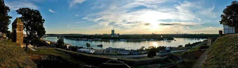 Панорамный вид на Сербию. Фото: wikipedia.org
