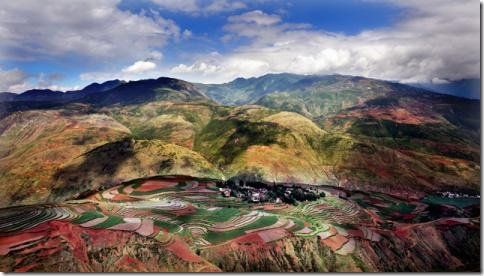 Юньнань Dongchuan Красная Земля