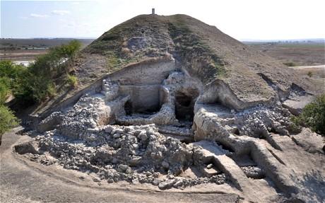 Остатки поселения недалеко от города Провадия (AFP / Getty)
