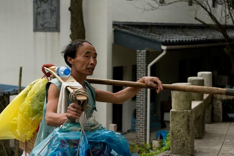 Кули - китайский носильщик