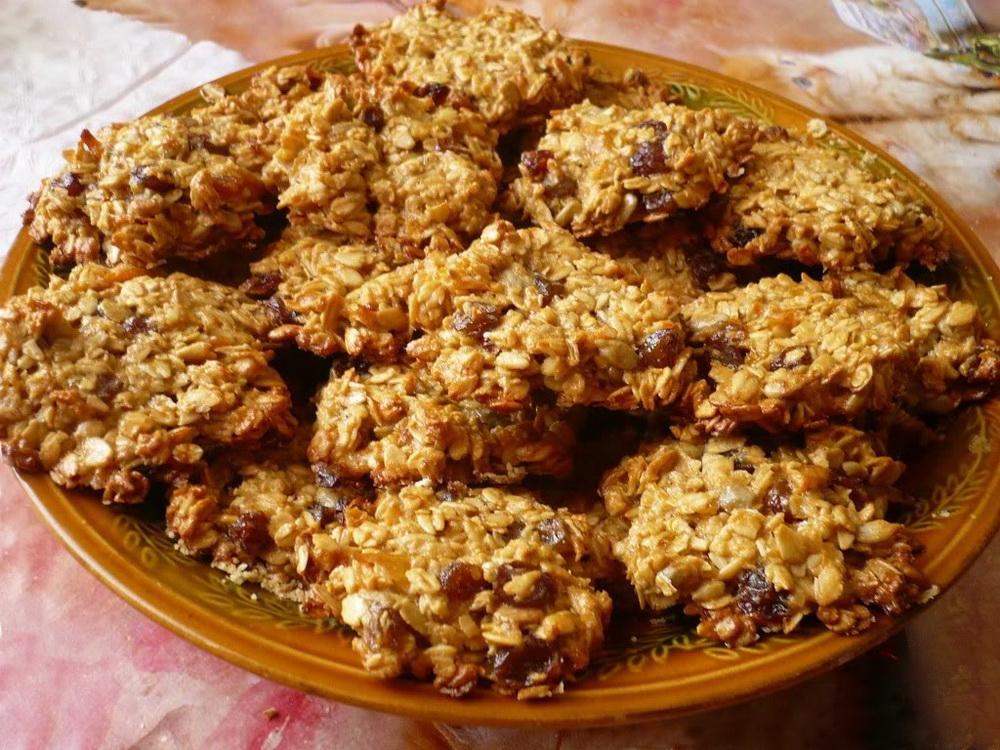 Овсяное печенье. Вкусно и просто.