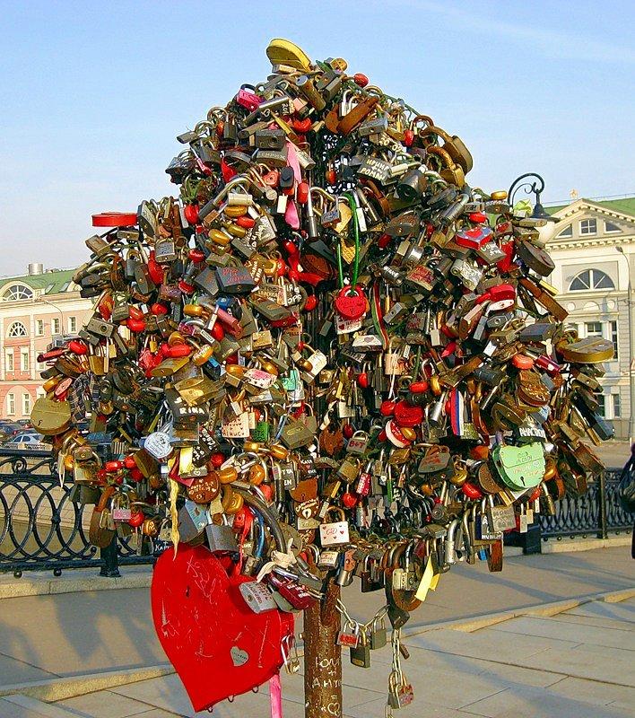 Дерево любви.