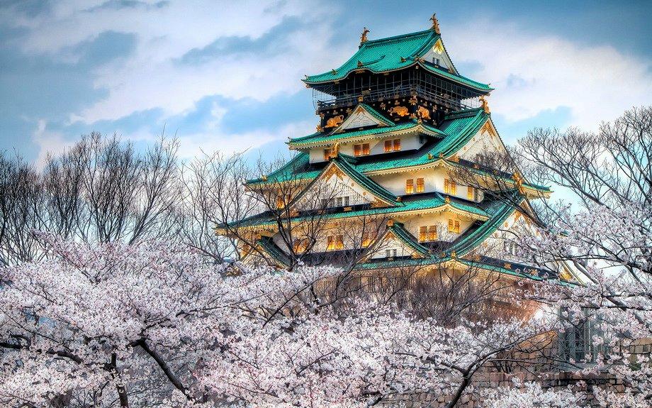Храм пагода.