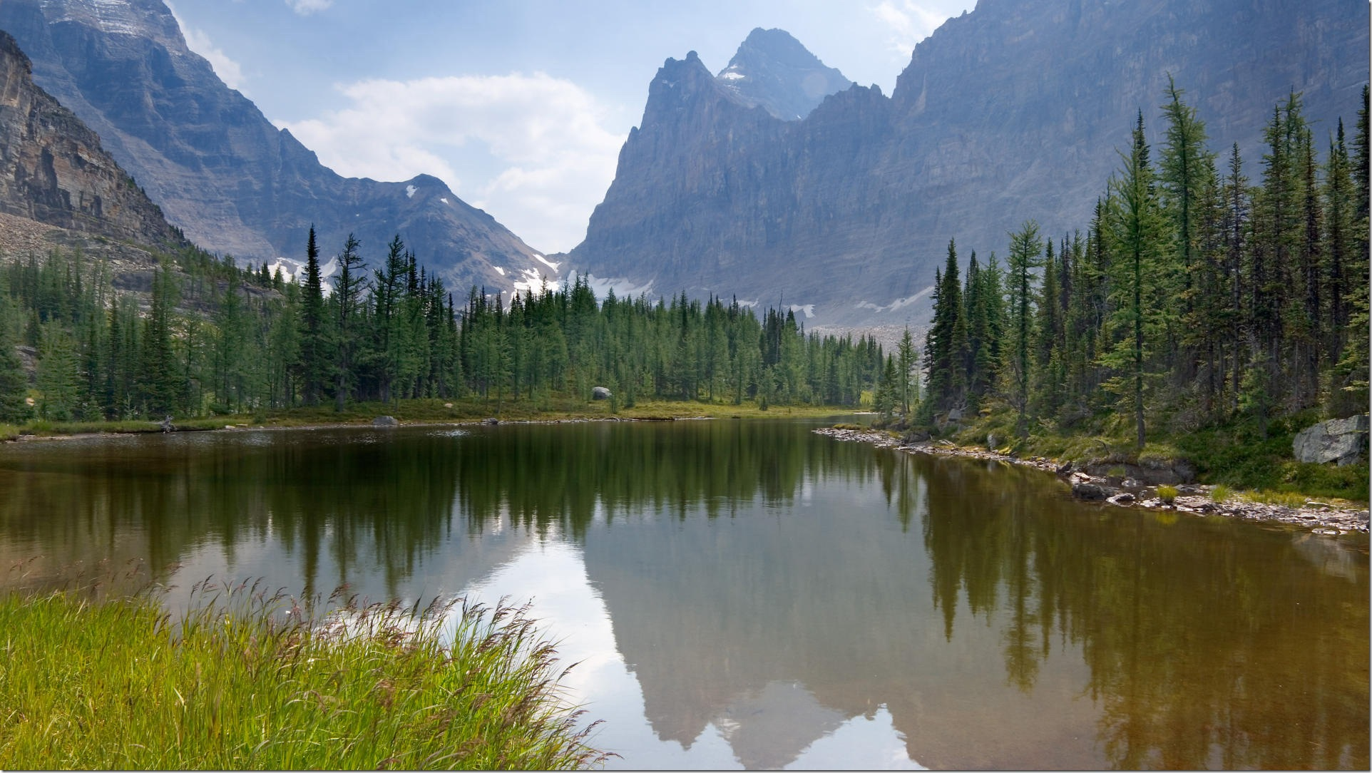 Moor Lakes, Opabin Highland, Yoho National Park, B.C.