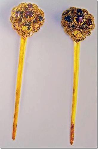 Древнекитайские заколки