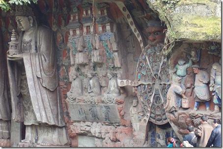 Будды на горе Баодин