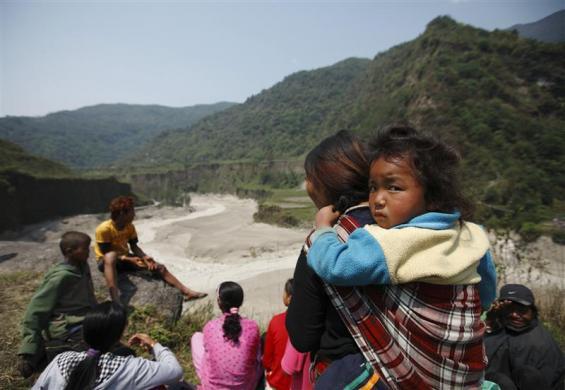 Непал, наводнение. Фото: REUTERS/Navesh Chitrakar