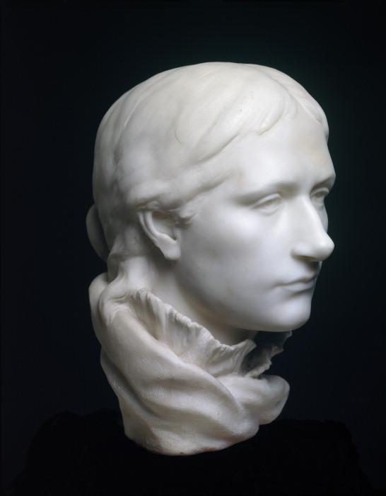 Мит Гоген, мраморная статуя сделанная Полем Гоген