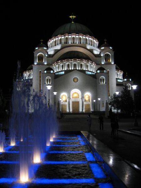 Храм святого Саввы в Белграде. Фото: wikipedia.org