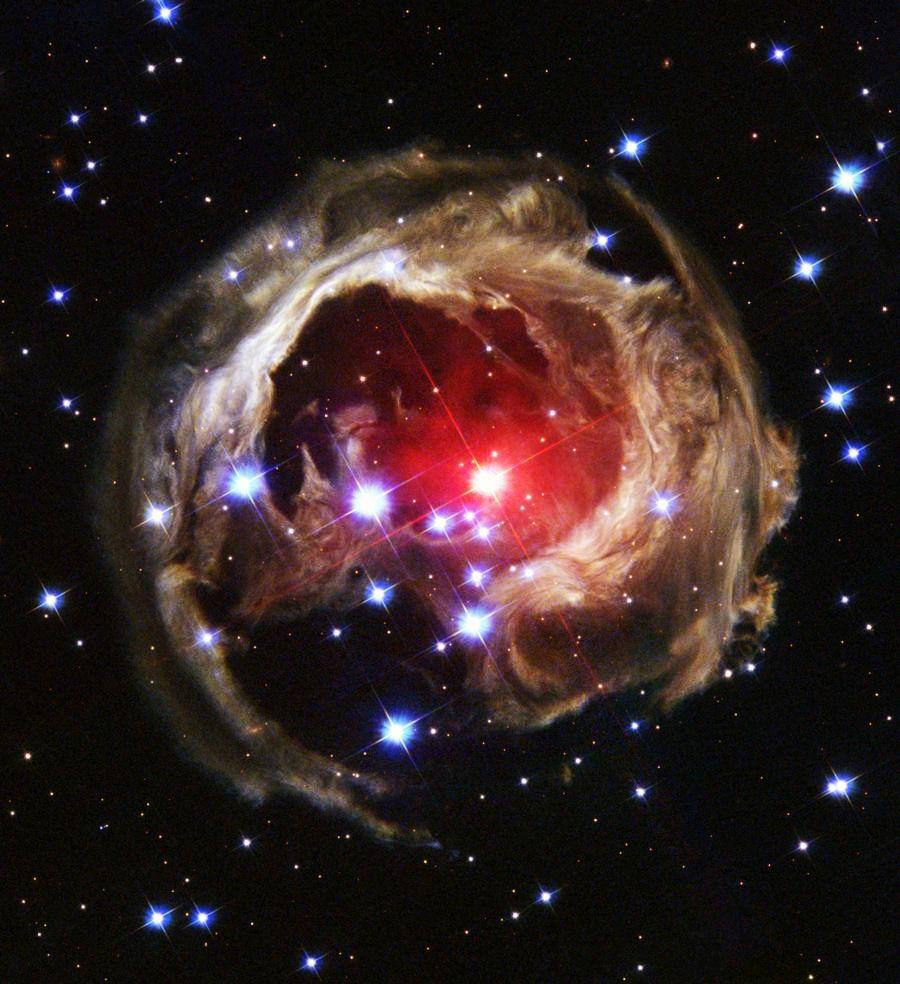 Вселенная с миллиардами звёзд