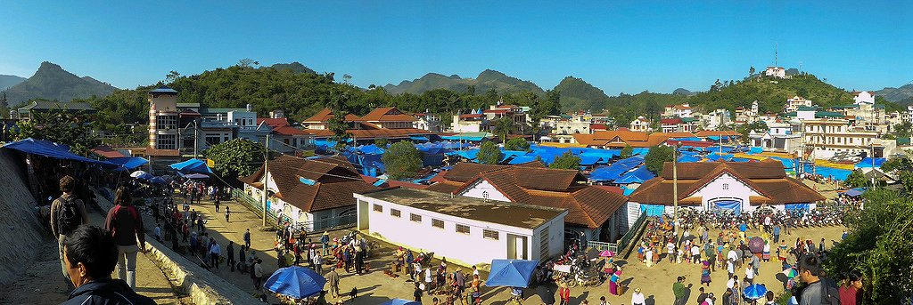 Вьетнам, рынок Bac Ha