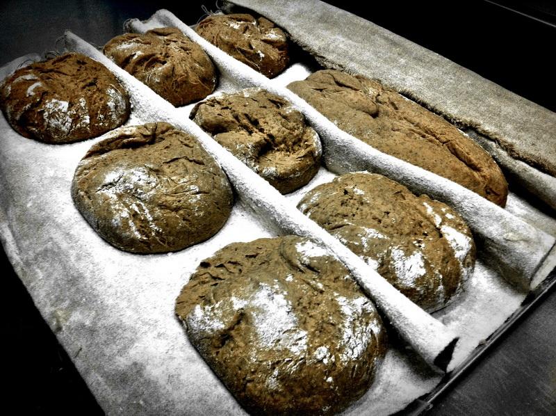 Хлеб из муки грубого помола.