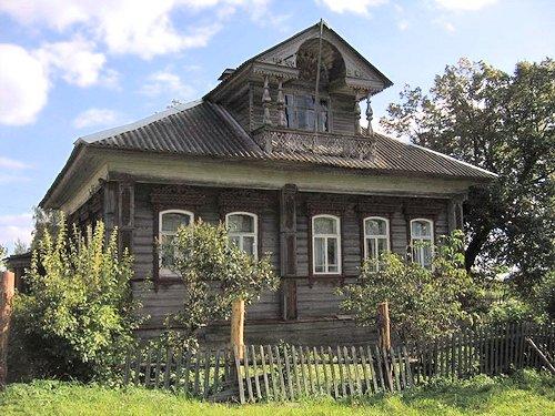 Старый дом в центральной России