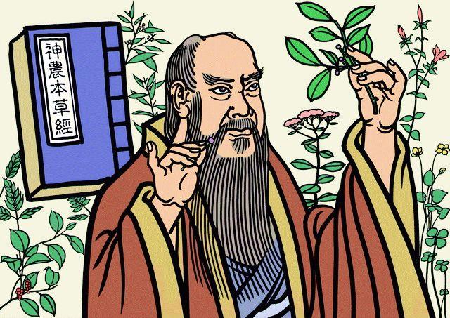 Шэнь-нун стал пробовать травы на вкус
